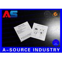 Wholesale Pharmaceutical Flyer Package Insert Printing For Steroid Bodybuilding Oil Instruction from china suppliers