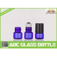 Wholesale Wholesale Best Cheap Blue 1ml Empty Roll On Bottle Essentail Oil Glass Bottle from china suppliers