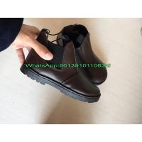 Wholesale Wholesale Cheap China Low Price 7000 pairs Genuine Leather Kids Shoes Boot Stock from china suppliers