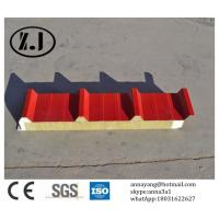 Quality Fireproof Rockwool Sandwich Roof Panel for sale