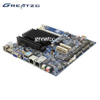 Wholesale Noiseless Dual LAN Motherboard With WIFI , INTEL Bay Trail Motherboard Fanless  from china suppliers