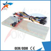 Wholesale 830 Points Breadboard + MB102 5V/3.3V Power Module+65 pcs Jumper Wire for Arduino from china suppliers