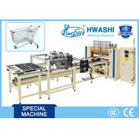 Buy cheap HWASHI Multi-point Spot Wire Mesh Welding Machine for Making Supermarket Shelf from wholesalers
