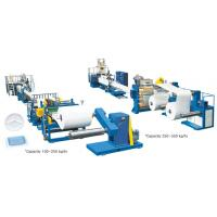 Wholesale Recycled Thin Plastic Sheets Extruder Machine , 1600mm White Foam Sheet Extruding Machine from china suppliers