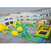 Wholesale 95 Persons Inflatable Water Parks / Inflatable Sea Floating Water Amusement Park from china suppliers