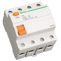 Buy cheap 2 / 4 Pole Residual Current Circuit Breaker for Terminal and Pin / Fork Type Busbar Connection from wholesalers