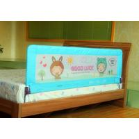 Wholesale Blue Fabric Toddler  Bed Rail In Fashion Design , One Hand Can Fold from china suppliers