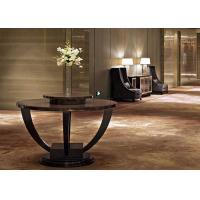Wholesale Contemporary Modern Lobby Furniture , Dark Round End Tables 150 cm from china suppliers