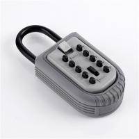 Wholesale Convenient Keyless Push Button Key Lock Box Outside Waterproof Zinc Alloy from china suppliers