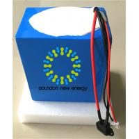 Wholesale 48V 25Ah Deep Cycle Lithium Ion Motorcycle Battery For Electric Scooters / Motorcycles from china suppliers