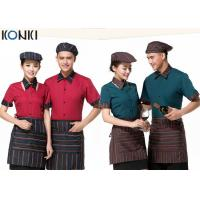 Wholesale Cool Restaurant Wait Staff Uniforms Nice Shirt And Pants For Restaurant from china suppliers