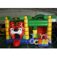 Wholesale Toys Ocean Original Design Inflatable Tiger Jungle Theme Bouncer With Slide from china suppliers