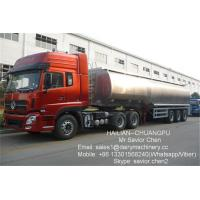 Wholesale 5000L Transporting Milk Cooler Tank Stainless Steel Milk Storage Tank from china suppliers