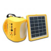 Wholesale 2015 New Solar Lamp With Solar Panel Portable Solar LED Lights Outdoor Charge Mobile Phone Camping and Fishing from china suppliers