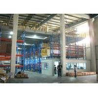 Wholesale High Quality Steel Goods Rack System Mezzanine Racking&Steel Platform from china suppliers