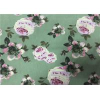 Wholesale Floral Printing Cotton Drill Fabric , Cotton Floral Fabric  For Women Dress from china suppliers