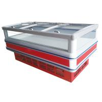 Wholesale Sliding Doors Commercial Display Freezer -18 Degree With Double Island from china suppliers