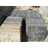 Wholesale Black Slate Wall Caps,Natural Wall Top Stone,Column Caps,Pillar Caps,Pillar Top Charcoal Stone from china suppliers