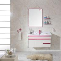 Quality Newly Hot Sale Wall Mounted  Washroom Cabinet Furniture Set for sale