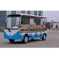 Wholesale 11 Seats Electric Sightseeing Bus , Multi Passenger Golf Carts For Tourists from china suppliers