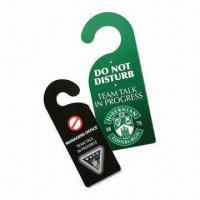 Wholesale Tag Door Hanger, No Peculiar Smell, Environment-friendly and Nontoxic, Available in Various Designs from china suppliers