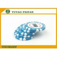 Wholesale Light Blue Clay Crown Poker Chips Casino Standard Game Poker Chips from china suppliers