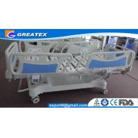 Quality CE ISO Hospital Adjustable Bed For Patient With Four Wheels , Electric Nursing Bed (GT-BE5020-02) for sale
