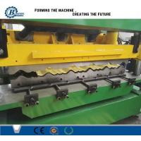 Wholesale Green Color Metal Steel Roof Tile Roll Forming Machine Hydraulic Cr12 Cutting Blades from china suppliers