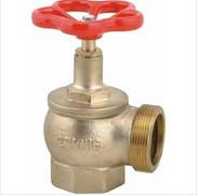 "Wholesale High Pressure 2"" BSP Fire Fighting Valves , Reliable Fire Hydrant Angle Valve from china suppliers"