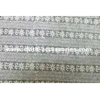 Wholesale Guipure Off White Lace Fabric / T - Shirt Elegant Mesh Lace Fabric Trims from china suppliers