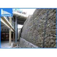 Wholesale Low Carbon Garden Wire Gabion Mesh Cages / Wall Fence For Bridge Protection from china suppliers