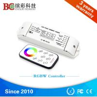 Wholesale Bincolor BC-420 Constant voltage 4 channel DC12V /24V push dim 5050 rgbw led strip controller from china suppliers