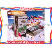 Quality OEM Cardamint Flavor Sugar Free Mints Candy Triangle With Logo Sweets Taste for sale