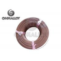 Wholesale PTFE insulation Thermocouple Cable Type T 24 AWG 20 AWG Brown Color from china suppliers