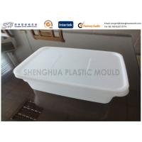 Wholesale Rectangle Thin Wall Safe takeaway Plastic Food Containers Disposable for storage from china suppliers