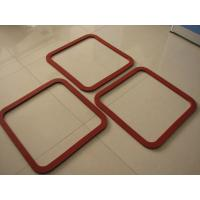 Wholesale Hot Resistant Silicone Sponge Gasket , Silicone Foam Gasket ROHS / FCC / SGS from china suppliers