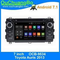 Wholesale Ouchuangbo 1024*600 Android 7.1 system for Toyota Auris 2013 with DDR3 2GB 1.6GHz 1080P Video calendar function from china suppliers