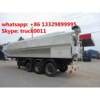 Wholesale 50cbm poultry animal feed tank trailer for sale, CLW best price 25ton animal feed transported tank trailer for sale from china suppliers