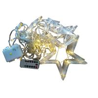 Wholesale USB and battery powered star curtain light with remote controller from china suppliers