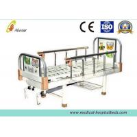 Wholesale Metal Punching Bed Surface Double Crank Children Hospital Baby Beds with 2 Functions (ALS-BB011) from china suppliers