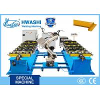 Wholesale CO2 MIG Industrial Welding Robots For Storage Rack Frame , Beam Welding Robots from china suppliers