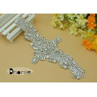 Wholesale Sew On Bling Jewellery Crystal Rhinestone Bridal Appliques For Wedding Dress from china suppliers