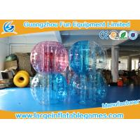 Wholesale 1.5M TPU Inflatable Bumper Ball Battle Sumo Zorb bubble balls for adults With CE from china suppliers