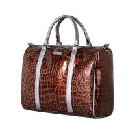 Buy cheap Leather diaper bag,made of good PU leather,For mother on the go,portable,OEM welcome from wholesalers