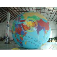 Wholesale Custom 5m PVC Durable Inflatable Globe Ball Helium For Tade Show from china suppliers