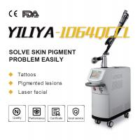 Wholesale Top Homogeneous Beam EO Q Switch 1064nm 532nm Long Pulse ND YAG Laser Tattoo Removal For Clinic from china suppliers