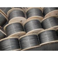 Wholesale 3mm Galvanized steel wire rope , 6x37 and DIN / GB / EN12385-4 from china suppliers