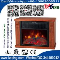 Wholesale log burning flame electric fires stoves EF480 MINI TABLE climat chimenea Heater Slogger desktop fireplace heater wooden from china suppliers