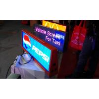 Wholesale Double Sides P6 Full Color Taxi Led Display 3g / Wifi Controlled 960*384mm from china suppliers