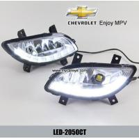 Wholesale Chevrolet Enjoy MPV DRL LED Daytime driving Lights car front lamp light from china suppliers